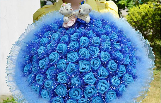 Rose meaning - Blue