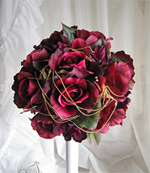 Dark red rose meaning