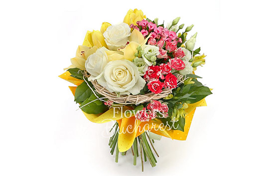 Alstroemeria rose for friends