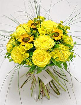 Sunflowers flower for friends